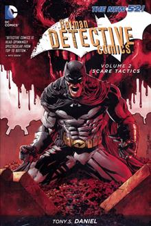 BATMAN DETECTIVE COMICS HC VOL 02 SCARE TACTICS