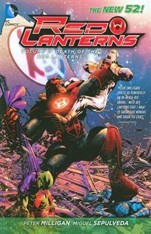 RED LANTERNS TP VOL 02 DEATH OF RED LANTERNS (N52)
