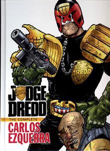 JUDGE DREDD COMPLETE CARLOS EZQUERRA HC VOL 01