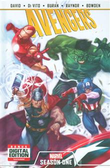 AVENGERS SEASON ONE PREM HC
