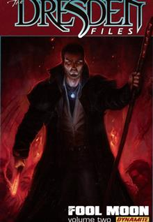 JIM BUTCHER DRESDEN FILES FOOL MOON PART 2 HC