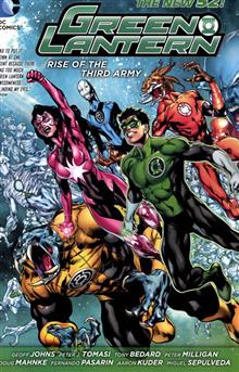 GREEN LANTERN RISE OF THE THIRD ARMY TP (N52)