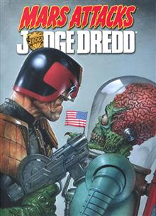 MARS ATTACKS JUDGE DREDD TP