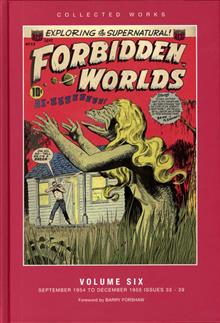 ACG COLL WORKS FORBIDDEN WORLDS HC VOL 06