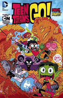 TEEN TITANS GO TP VOL 01 PARTY PARTY