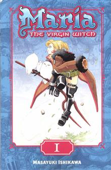 MARIA THE VIRGIN WITCH GN VOL 01