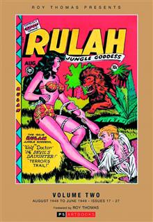 ROY THOMAS PRESENTS RULAH JUNGLE GODDESS HC VOL 02