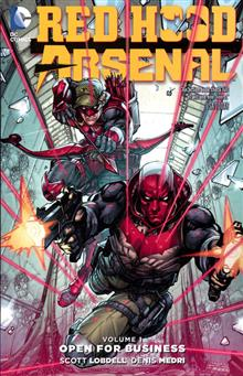 RED HOOD ARSENAL TP VOL 01 OPEN FOR BUSINESS