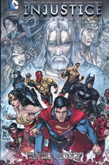INJUSTICE GODS AMONG US YEAR FOUR HC VOL 01