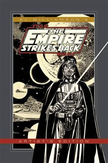 AL WILLIAMSON STAR WARS EMPIRE STRIKES BACK ARTIST ED HC