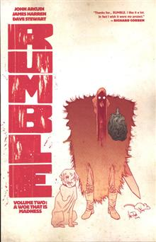 RUMBLE TP VOL 02 A WOE THAT IS MADNESS (MR)