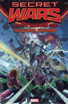 SECRET WARS LAST DAYS OF MARVEL UNIVERSE HC