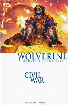 CIVIL WAR WOLVERINE TP NEW PTG