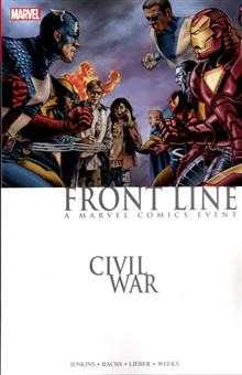 CIVIL WAR FRONT LINE TP