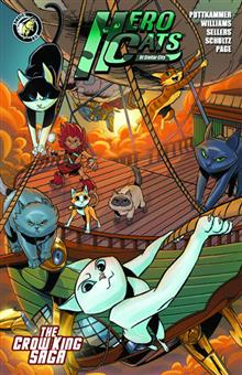 HERO CATS TP VOL 03