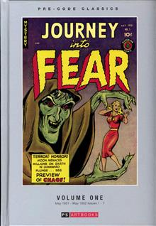 PRE CODE CLASSIC JOURNEY INTO FEAR HC VOL 01