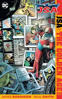 JSA THE GOLDEN AGE DELUXE ED HC (RES)