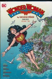 WONDER WOMAN BY GEORGE PEREZ OMNIBUS HC VOL 02