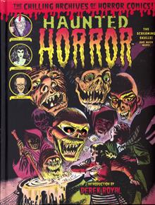 HAUNTED HORROR HC VOL 05 SCREAMING SKULLS