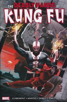 DEADLY HANDS OF KUNG FU OMNIBUS HC VOL 02 DEKAL CVR (MR)