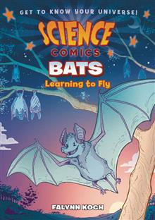 SCIENCE COMICS BATS SC GN