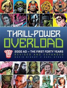 THRILL POWER OVERLOAD 2000 AD REDUX HC