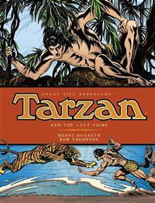 BURNE HOGARTH TARZAN HC VOL 04 THE LOST TRIBES