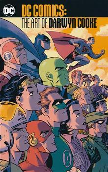 DC COMICS THE ART OF DARWYN COOKE TP
