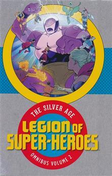LEGION OF SUPER HEROES SILVER AGE OMNIBUS HC VOL 02
