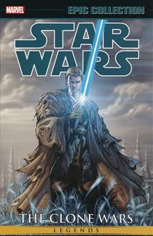STAR WARS LEGENDS EPIC COLLECTION CLONE WARS TP 02