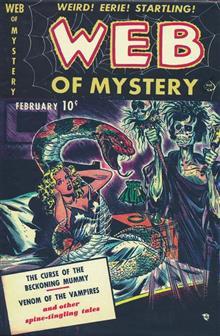 PRE CODE CLASSICS WEB OF MYSTERY SLIPCASE ED VOL 01