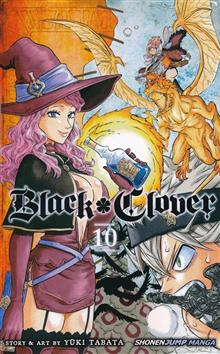 BLACK CLOVER GN VOL 10