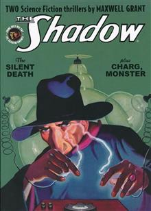 SHADOW DOUBLE NOVEL VOL 127 SILENT DEATH & CHARG M
