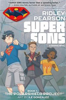 SUPER SONS THE POLARSHIELD PROJECT TP DC ZOOM
