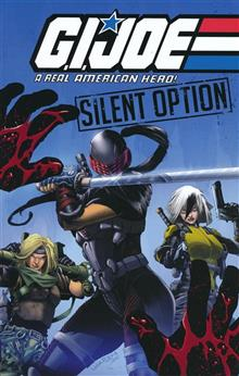GI JOE REAL AMERICAN HERO SILENT OPTION TP