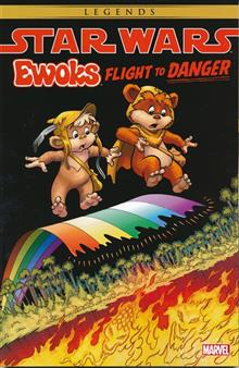 STAR WARS EWOKS TP FLIGHT TO DANGER