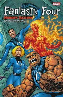 FANTASTIC FOUR COMPLETE COLLECTION TP VOL 01 HEROES RETURN
