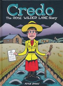 CREDO ROSE WILDER LANE STORY HC