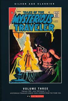 SILVER AGE CLASSICS TALES OF MYSTERIOUS TRAVELER HC VOL 03