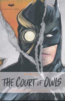 BATMAN COURT OF OWLS NOVEL
