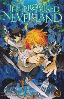 PROMISED NEVERLAND GN VOL 08 (C: 1-0-1)