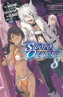 IS WRONG PICK GIRLS DUNGEON SWORD ORATORIA NOVEL SC VOL 08 (