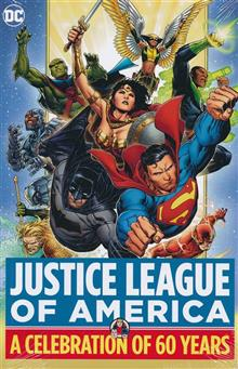 JUSTICE LEAGUE OF AMERICA A CELEBRATION OF 60 YEARS HC (Limit 1 per customer)