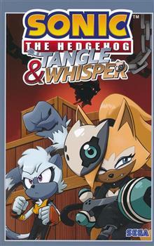 SONIC THE HEDGEHOG TANGLE & WHISPER TP VOL 01 (C: 1-1-2)
