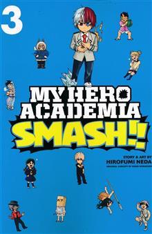 MY HERO ACADEMIA SMASH GN VOL 03