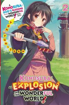 KONOSUBA EXPLOSION ON WORLD LIGHT NOVEL SC VOL 02
