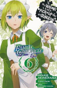 IS WRONG PICK UP GIRLS DUNGEON FAMILIA LYU GN VOL 06
