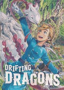 DRIFTING DRAGONS GN VOL 03