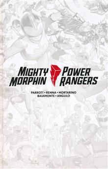 MIGHTY MORPHIN / POWER RANGERS #1 LTD ED HC