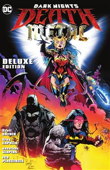 DARK NIGHTS DEATH METAL DELUXE EDITION HC